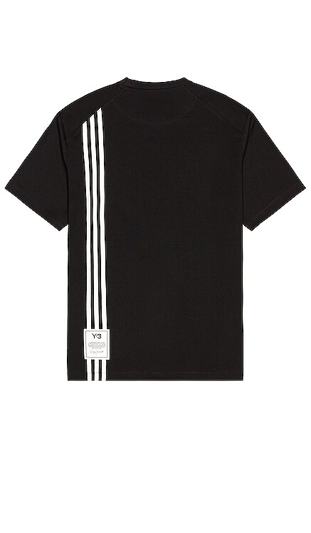3 Stripe Tee Y-3 Yohji Yamamoto $120 NEW