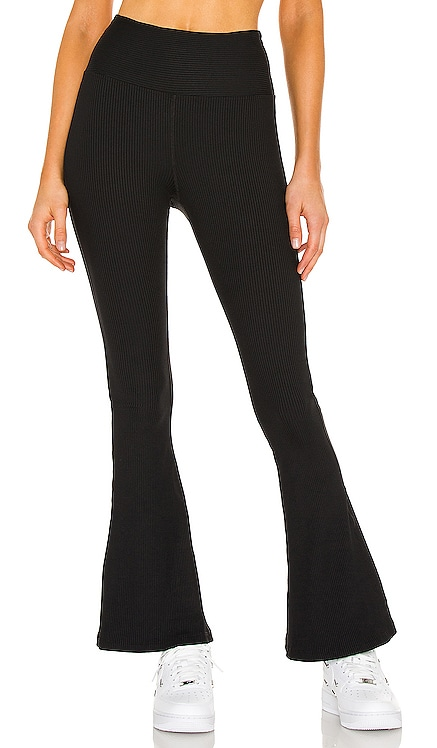 Ribbed Flare Legging YEAR OF OURS $110 NEW