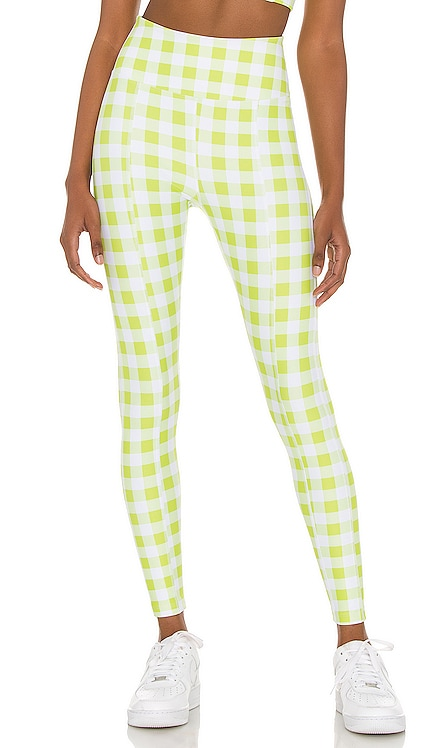 Gingham Rocky Legging YEAR OF OURS $110 NEW