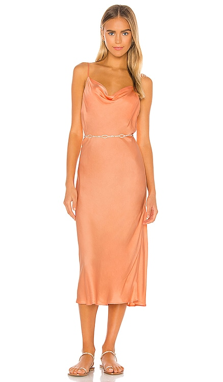 Evie Bias Cut Midi Dress Young, Fabulous & Broke $150