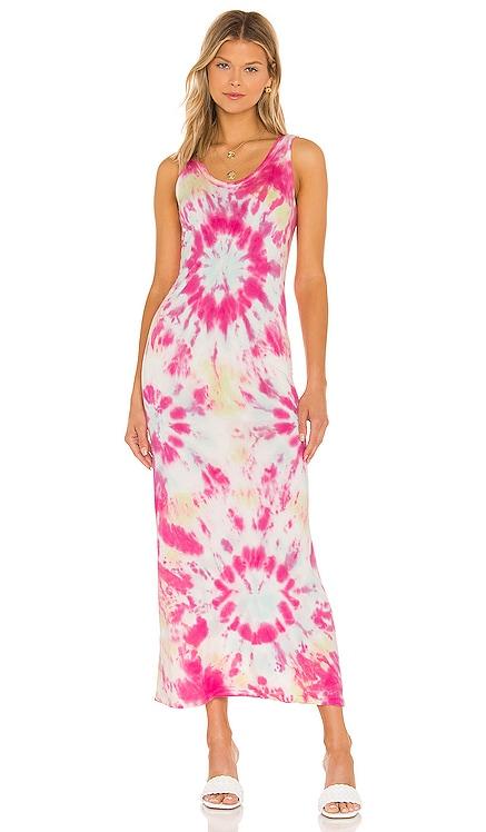 Tulla Column Dress Young, Fabulous & Broke $128 NEW