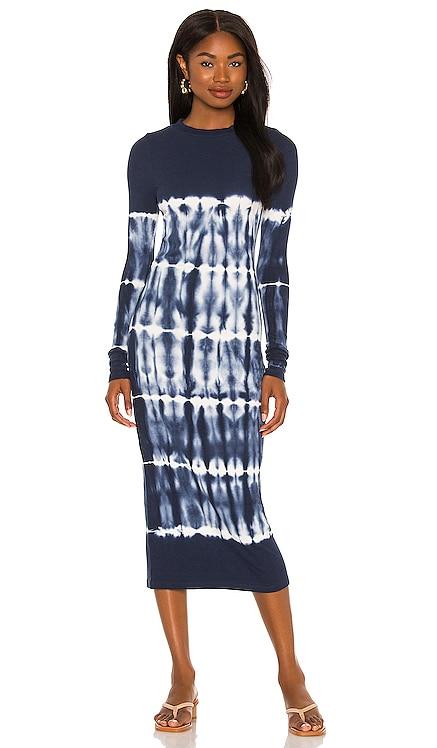 X REVOLVE Dax Midi Dress Young, Fabulous & Broke $114 NEW