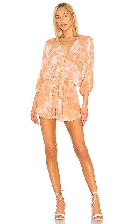 Kyra Romper Young, Fabulous & Broke $89
