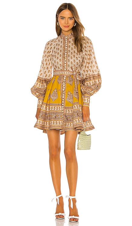 Bonita Buttoned Dress Zimmermann $640 BEST SELLER
