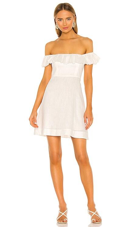 Brighton Ruffle Neck Dress Zimmermann $480