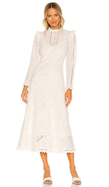 Brighton Panelled Lace Dress Zimmermann $750