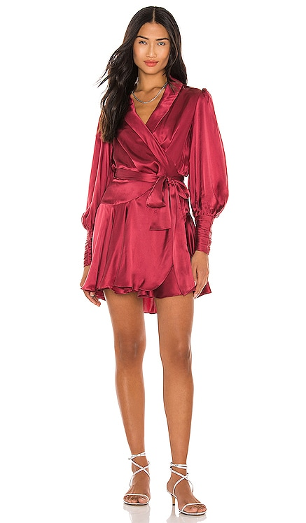 Silk Wrap Mini Dress Zimmermann $560 NEW