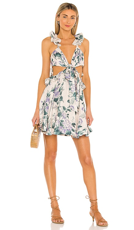Cassia Ruffle Mini Dress Zimmermann $695