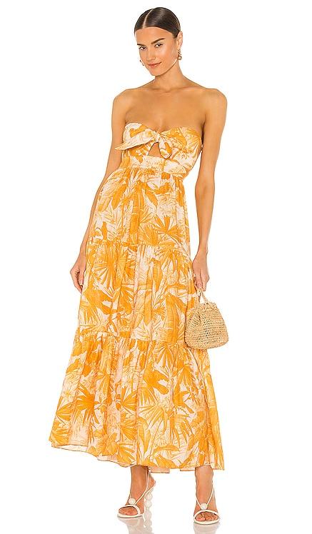 Mae Tie Midi Dress Zimmermann $750 BEST SELLER