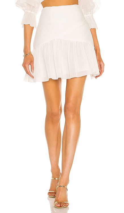 Pleated Mini Skirt Zimmermann $450