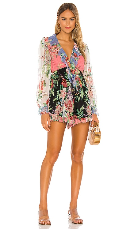 Bellitude Flutter Playsuit Zimmermann $695 NEW