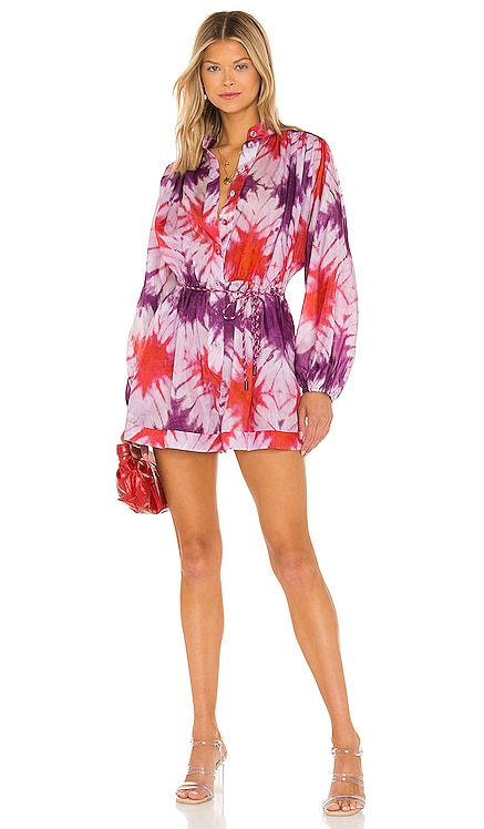 Shelly Button Playsuit Zimmermann $650 NEW
