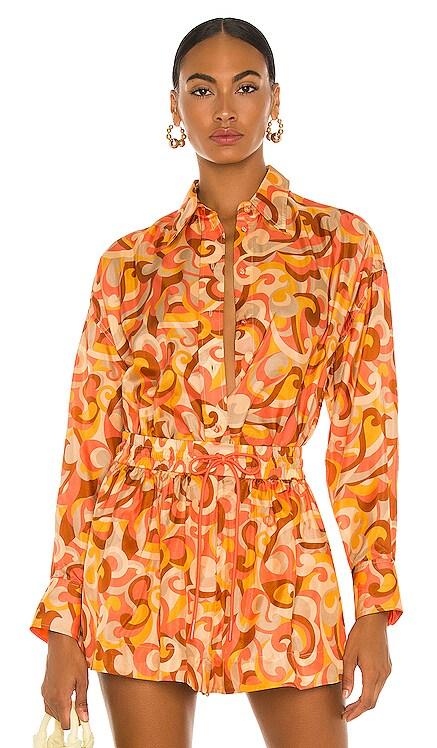Mae Relaxed Shirt Zimmermann $595 NOUVEAU
