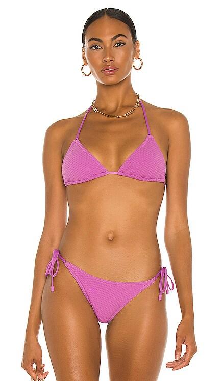 Separates Mini Tri Bikini Top Zimmermann $115 NEW