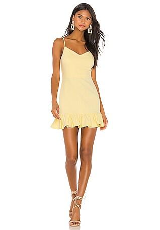 6151beb91b9c Spaghetti Strap Ruffle Hem Slip Dress