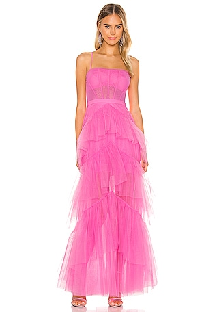 Corset Tulle Gown
