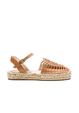 Platform Huarache Sandal