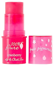 Lip & Cheek Tint en Cranberry Glow