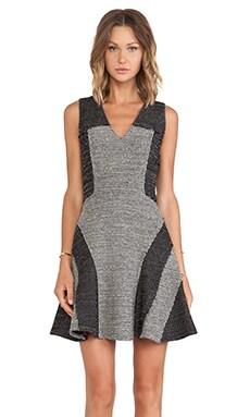 DEREK LAM 10 CROSBY Fit & Flare Dress in Black