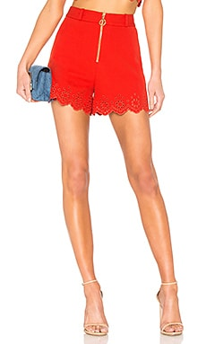 Eyelet High Rise Short DEREK LAM 10 CROSBY $57 (FINAL SALE)