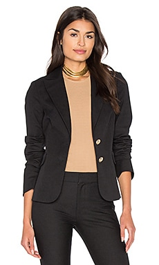 Patch Pocket Blazer in Black