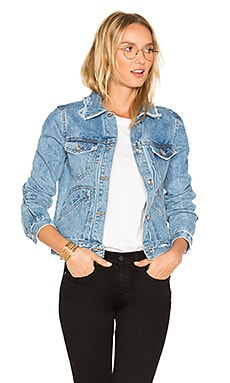 Toby Classic Jean Jacket en Light Denim
