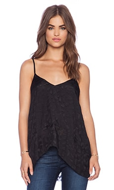 DEREK LAM 10 CROSBY Camisole in Black