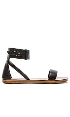 DEREK LAM 10 CROSBY Pier Sandal in Black