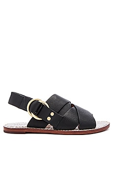 DEREK LAM 10 CROSBY Ally Sandal in Black