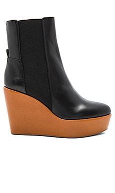 Sandy Too Bootie en Black Shine Calf