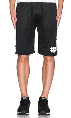 10 Deep Rescue Mesh Short in Black