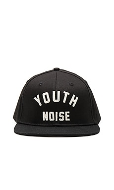 10 Deep Youth Noise Belt Back Hat in Black