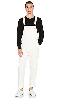 10 Deep Damien Overall in Off White