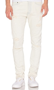 10 Deep Repair Paint Splash Jeans in Lt Stone Splash