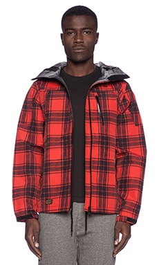 10 Deep Altitude Technical Jacket in Red