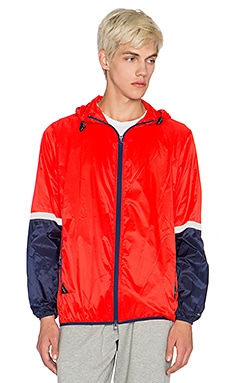 10 Deep Featherweight Jacket in Red