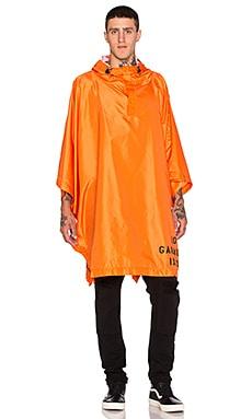10 Deep Jobber Poncho in Orange