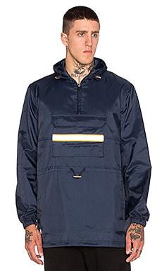 10 Deep Fishtail Safety Slicker Jacket in Navy