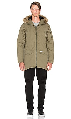 10 Deep Surplus Snorkel Jacket in Army