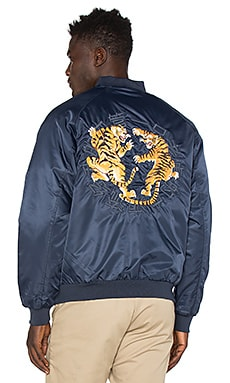 Tiger Claw Satin Jacket