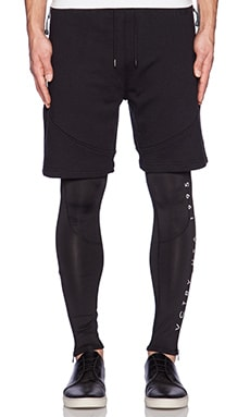10 Deep False Trainer Pant in Black