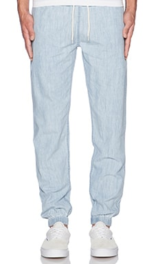 10 Deep Cozy Pant en Light Indigo
