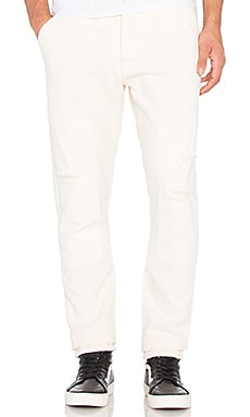 10 Deep Reinforced Carpenter Pant in Off White