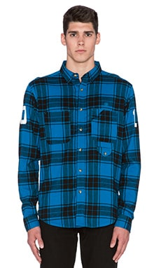 10 Deep Big 10 Button Down in Blue