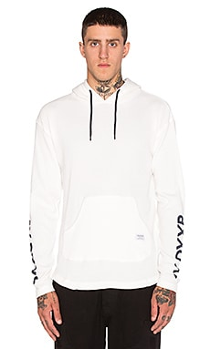 10 Deep Division Hooded Thermal in Off White