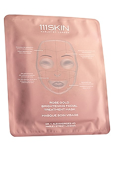Rose Gold Brightening Facial Treatment Mask 111Skin $32
