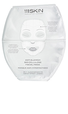 Anti Blemish Bio Cellulose Facial Mask 111Skin $32