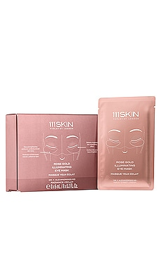 Rose Gold Illuminating Eye Mask 8 Pack 111Skin $105