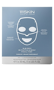 Sub Zero De-Puffing Energy Mask 5 Pack 111Skin $135 NEW