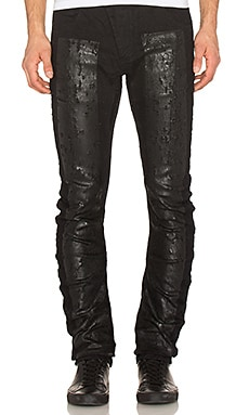 11 by Boris Bidjan Saberi Jeans in Denim Wash